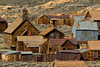Bodie townsite with Methodist church.