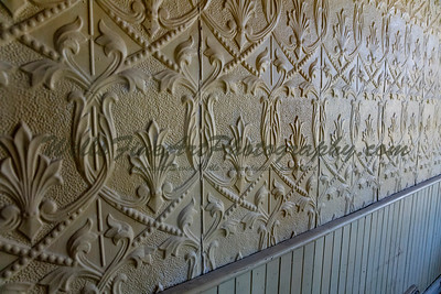 387A8117 Hammered tin wall