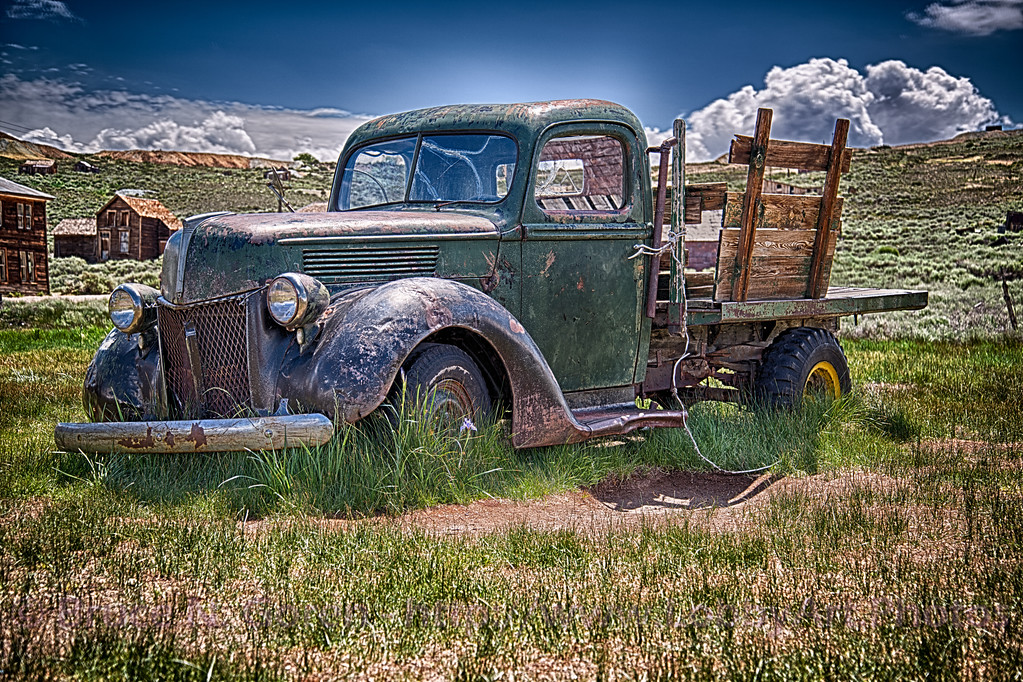 The Magical Abandoned Truck of Bodie California