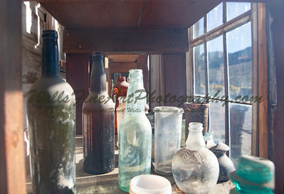 387A8103 Bottles from inside window