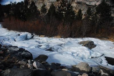 Ice on the Arkansas