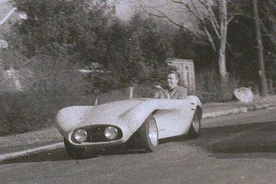 Joe Holderness' Crosley powered car