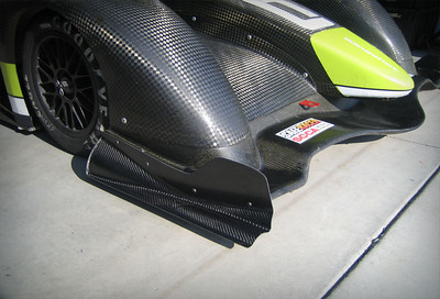 2010 Front Splitter End Plates