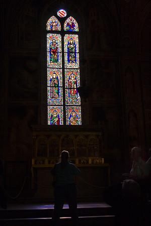 Interior; Santa Croce, Florence