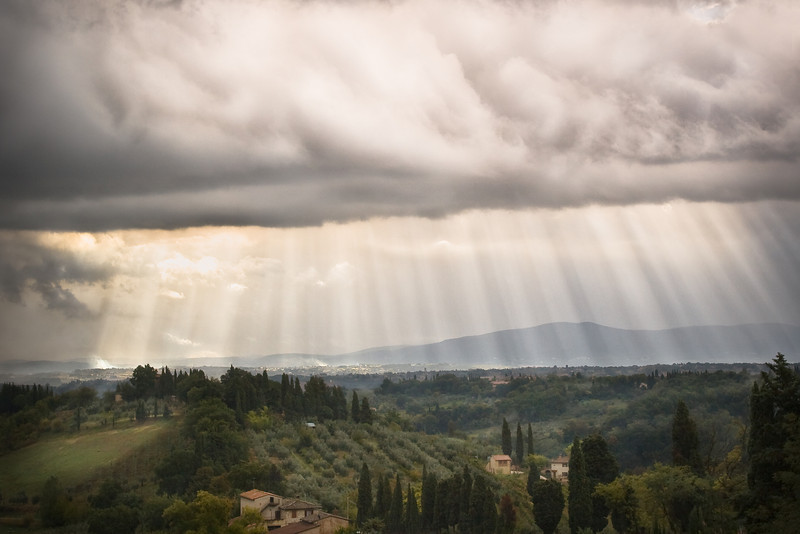 Clearing Over Tuscany