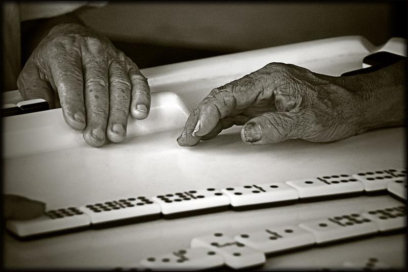 Dominoes Players; Little Havana