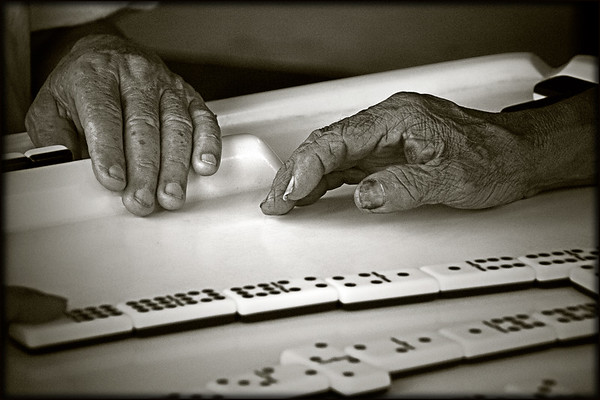 Dominoes Players; Little Havana