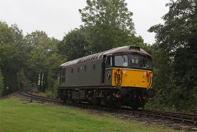 33110 runs round at Boscarne Junction