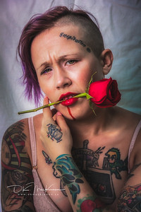 Still working on the images from last weekend. @cattgmodel and I had discussed a concept involving blood an roses to explore the intersection of beauty and pain. This is one of the results, thanks to her wonderfully-wide emptional range. Stay tuned for more.