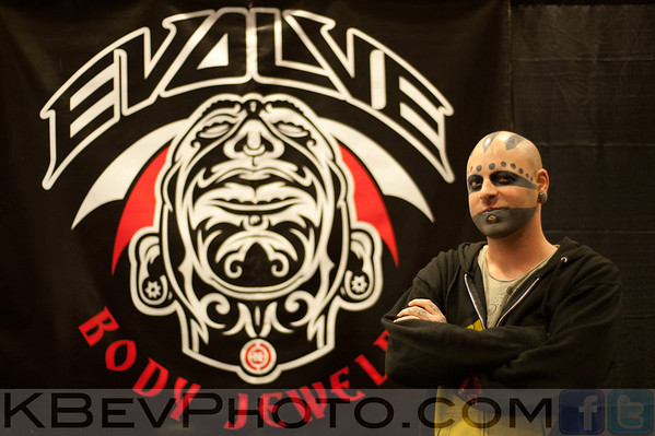 Joe Snake from Evolve in Seattle.  Nice chatting with him for a minute
