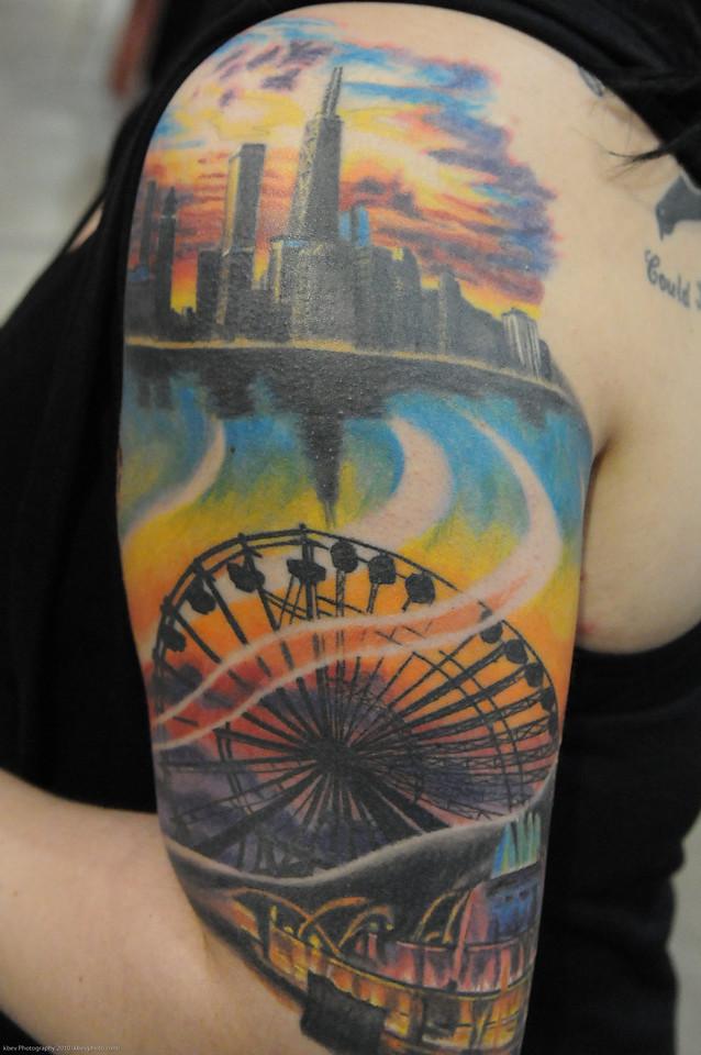 Kayla's Chicago skyline