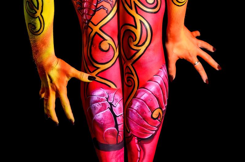 Artist: Dutch Arron Bihary - Model: Jenine Rose