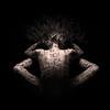 Chinese & Japanese calligraphy body art photography