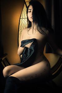 boudoir and body art photography studio in tokyo