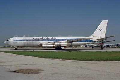 Blue version of TWA's livery, ex TWA