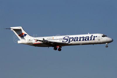 Spanair Boeing 717-2K9 EC-KFR (msn 55056) MAD (Ariel Shocron). Image: 902763.