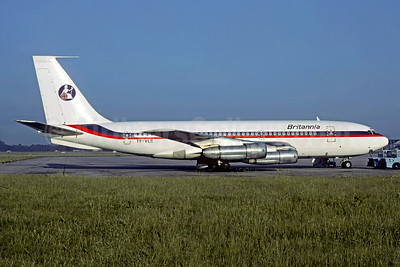 Britannia Airways (Eagle Air) Boeing 720-047B TF-VLC (msn 18820) (Air Malta colors) (Christian Volpati Collection). Image: 935165.