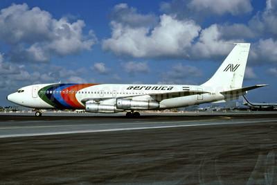 Aeronica Boeing 720-051B YN-BYI (msn 18688) MIA (Bruce Drum). Image: 101950.