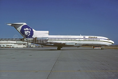 Alaska Airlines Boeing 727-21 N324AS (msn 19006) SEA (Christian Volpati Collection). Image: 931623.