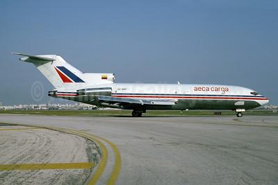 AECA Carga Boeing 727-23 (F) HC-BRF (msn 19388) MIA (Bruce Drum). Image: 103502.