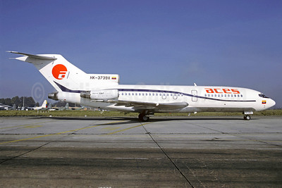 ACES Colombia Boeing 727-C3 HK-3739X (msn 20418) BOG (Christian Volpati). Image: 912740.