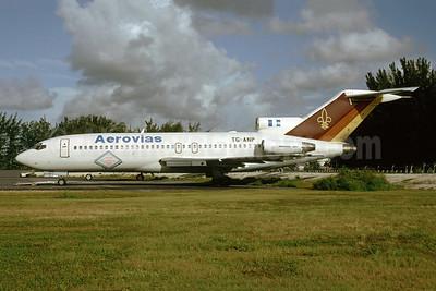Aerovias (Guatemala) Boeing 727-76 TG-ANP (msn 18742) MIA (Bruce Drum). Image: 103559.