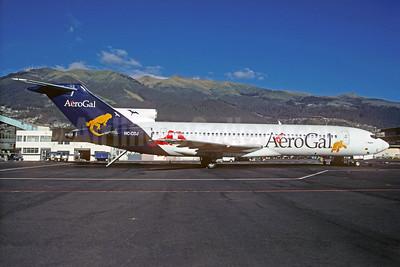 AeroGal (Aerolineas Galapagos) Boeing 727-227 HC-CDJ (msn 21246) UIO (Christian Volpati). Image: 932534.