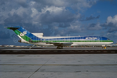 Air Florida (1st) Boeing 727-227 N275AF (msn 22092) MIA (Bruce Drum). Image: 102045.