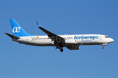 The first Boeing 737-800 operated by Air Europa Express