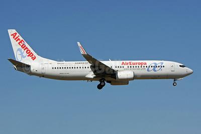 AirEuropa Boeing 737-85P WL EC-HKQ (msn 28388) (Madrid Open Caja Magica) LIS (Pedro Baptista). Image: 909038.