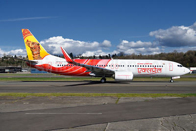 Air India Express' new delivery (right side)