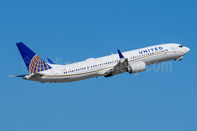 United Airlines Boeing 737-9 MAX 9 N37507 (msn 43437) FLL (Andy Cripps). Image: 944335.