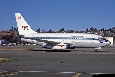 NASA Boeing 737-130 N515NA (msn 19437) (Langley Research Center) BFI (Rob Rindt Collection). Image: 948494.