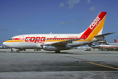 Copa Panama Boeing 737-112 HP-873-CMP (msn 19768) MIA (Christian Volpati Collection). Image: 926294.