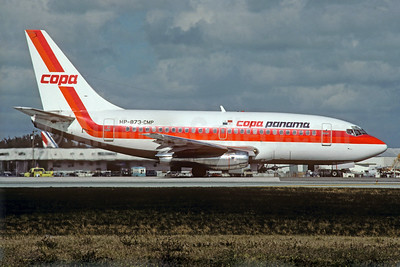 Copa Panama Boeing 737-112 HP-873-CMP (msn 19768) MIA (Christian Volpati Collection). Image: 926297.