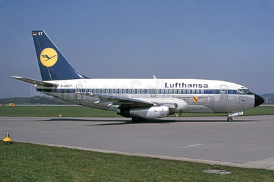 Lufthansa Boeing 737-130 D-ABET (msn 19030) ZRH (Bruce Drum Collection). Image: 911455.