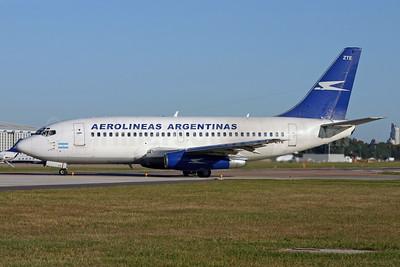 Aerolineas Argentinas Boeing 737-228 LV-ZTE (msn 23349) AEP (Marcelo F. De Biasi). Image: 900164.