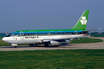 Aer Lingus Boeing 737-248 EI-ASG (msn 20222) BHX (SM Fitzwilliams Collection). Image: 910750.
