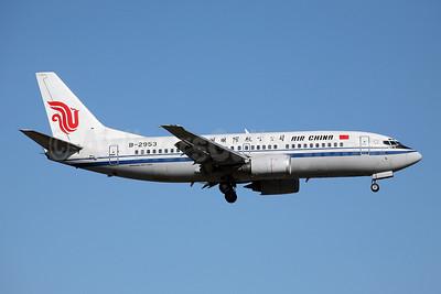 Air China Boeing 737-3J6 B-2953 (msn 27523) FUK (John Adlard). Image: 902306.