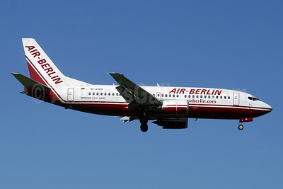 Air-Berlin (airberlin.com) Boeing 737-3L9 D-ADIF (msn 25125) ZRH (Paul Denton). Image: 909889.