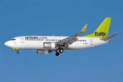 airBaltic (airBaltic.com) Boeing 737-33A WL YL-BBI (msn 27454) MUC (Arnd Wolf). Image: 904589.