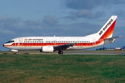 Air Europa Boeing 737-3Y0 EC-ECR (msn 23749) DUB (SM Fitzwilliams Collection). Image: 911712.