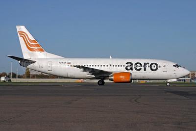 Aero Contractors (Nigeria) Boeing 737-3H9 YU-ANF (msn 23330) LHR (SPA). Image: 940189.