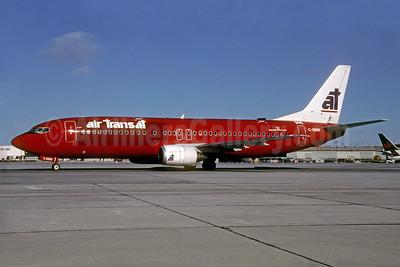 Air Transat Boeing 737-46M C-GBIW (msn 28549) (Virgin Express colors) YYZ (TMK Photography). Image: 929929.