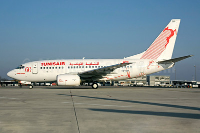 Tunisair Boeing 737-6H3 TS-IOR (msn 29502) (60 Years) CDG (Christian Volpati). Image: 901760.
