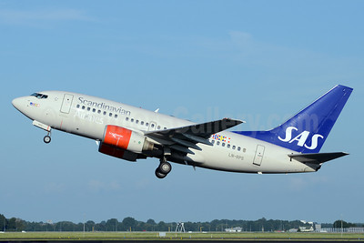Scandinavian Airlines-SAS Boeing 737-683 LN-RPS (msn 28298) AMS (TMK Photography). Image: 913400.