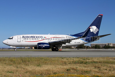 AeroMexico Boeing 737-752 WL XA-AGM (msn 35786) (clubpremier.com) SFO (Mark Durbin). Image: 908521.