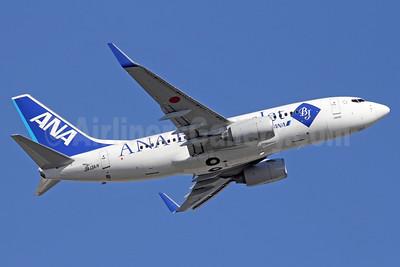 ANA Business Jet (All Nippon Airways) Boeing 737-781 ER JA13AN (msn 33880) NRT (Michael B. Ing). Image: 912576.