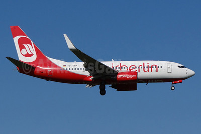 Airberlin (airberlin.com) (Germania) Boeing 737-75B WL D-AGEN (msn 28100) ZRH (Paul Bannwarth). Image: 913558.