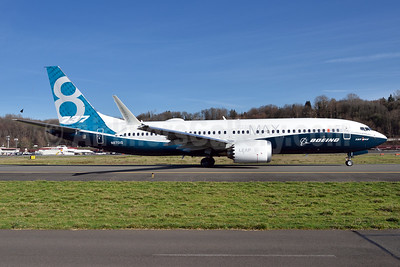 The first Boeing 737 MAX 8
